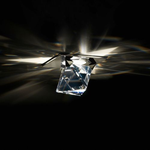 Swarovski Octa Recessed Downlight Chrome Clear Crystals A9950NR700120