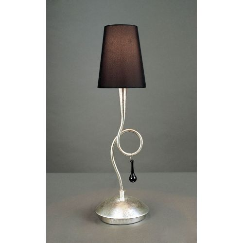 Mantra Paola Silver Leaf Table Lamp M0535