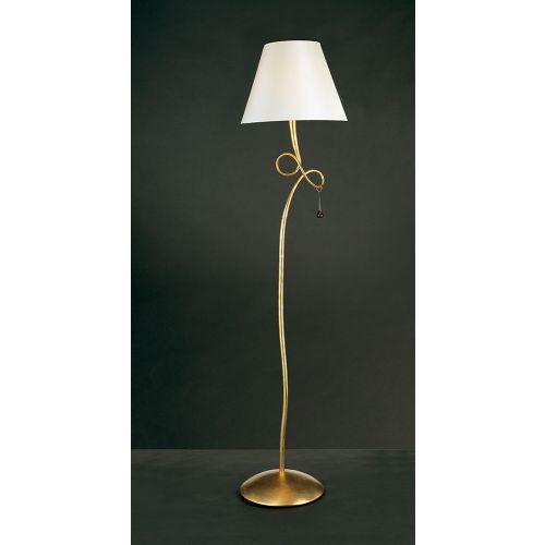 Mantra Paola Gold Leaf Floor Lamp M0543
