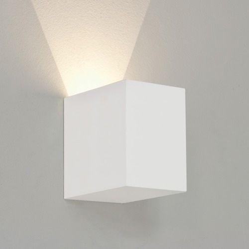 Astro Parma 100 LED White Plaster Wall Light 7606