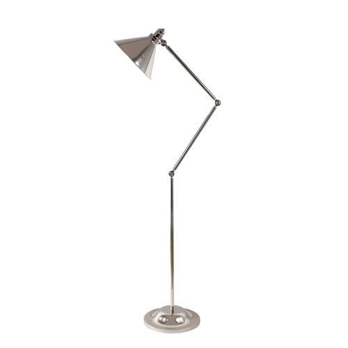 Elstead PV/FL PN Provence 1Lt Polished Nickel Floor Lamp