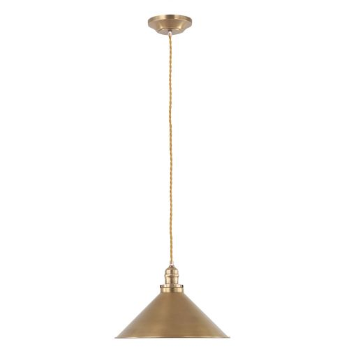 Elstead PV/SP AB Provence 1Lt Aged Brass Ceiling Pendant