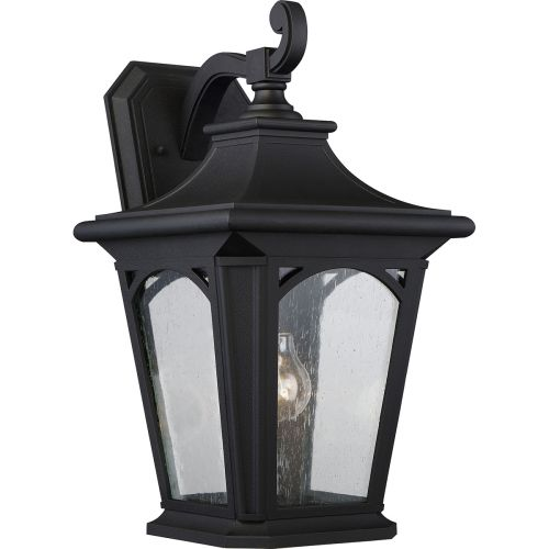 Quoizel Bedford Large Outdoor Wall Lantern Black ELS/QZ/BEDFORD2/L