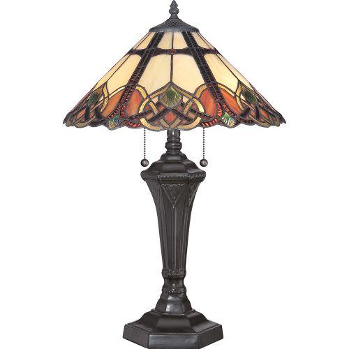 Quoizel Cambridge Table Lamp Vintage Bronze ELS/QZ/CAMBRIDGE/TL