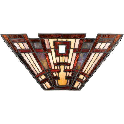 Quoizel Tiffany Classic Craftsman Wall Light Uplighter  ELS/QZ/CLASSICCRF/WU