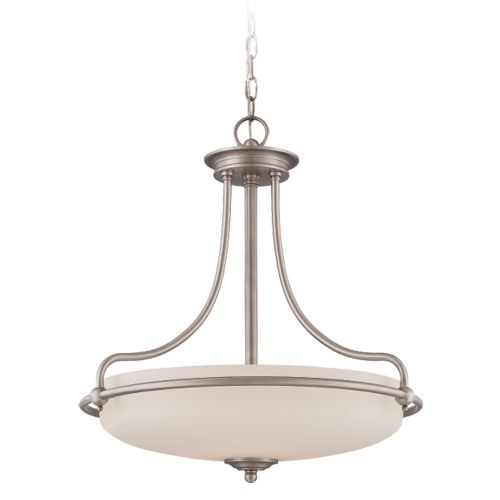 Quoizel QZ/GRIFFIN/P AN Griffin 4Lt Antique Nickel Ceiling Pendant