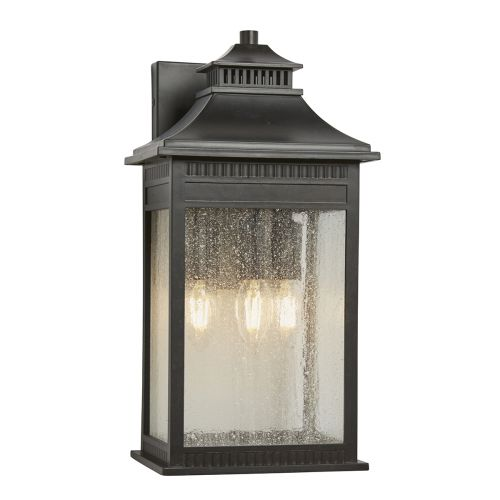 Quoizel Livingston Large Wall Lantern Imperial Bronze ELS/QZ/LIVINGSTON2/L
