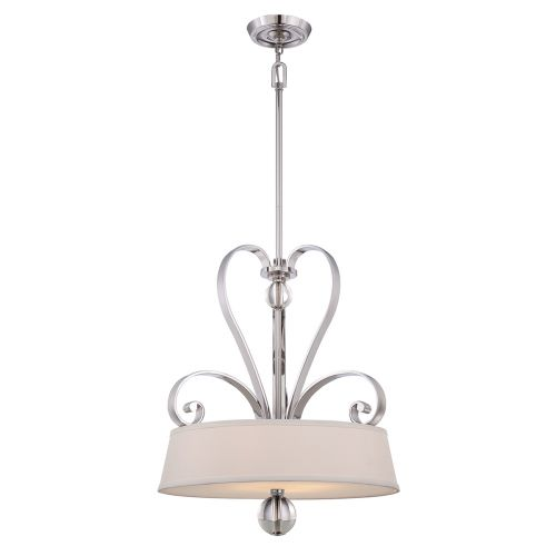 Quoizel Madison Manor Imperial Silver 4 Light Pendant QZ/MADISONM/P IS