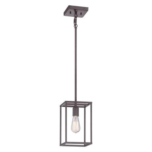 Quoizel Western Bronze Mini Indoor Lantern QZ/Newharbor/P