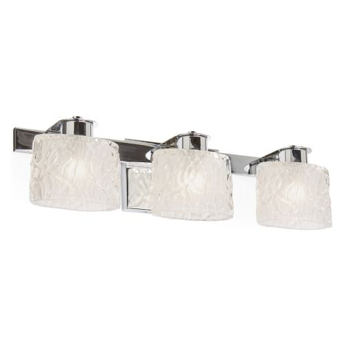 Quoizel Seaview 3lt Bathroom Wall Light Polished Chrome ELS/QZ/SEAVIEW3 BATH