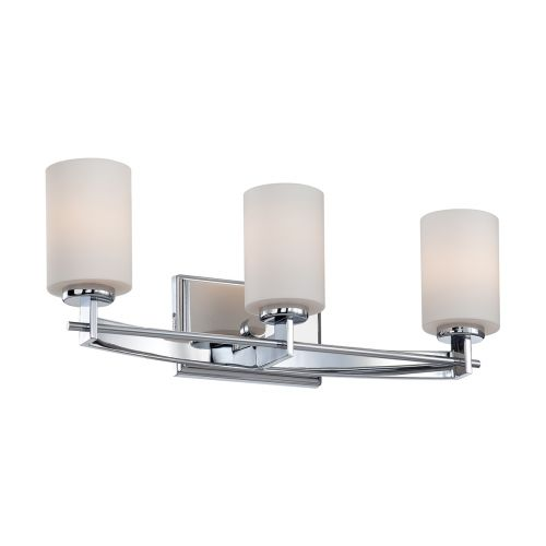 Quoizel Taylor 3lt Wall Light Polished Chrome ELS/QZ/TAYLOR3 BATH