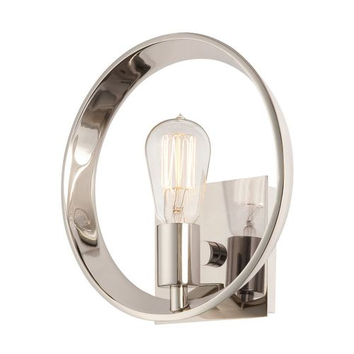 Quoizel Theater Row QZ/THEATERROW1IS Single Wall Light Imperial Silver