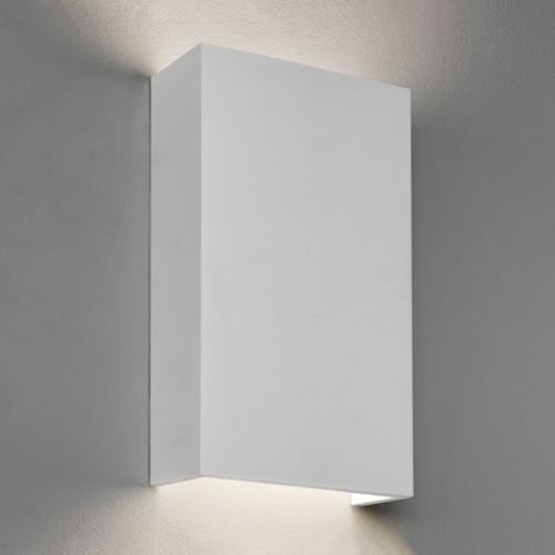 Astro Rio LED White Plaster Wall Light 7609