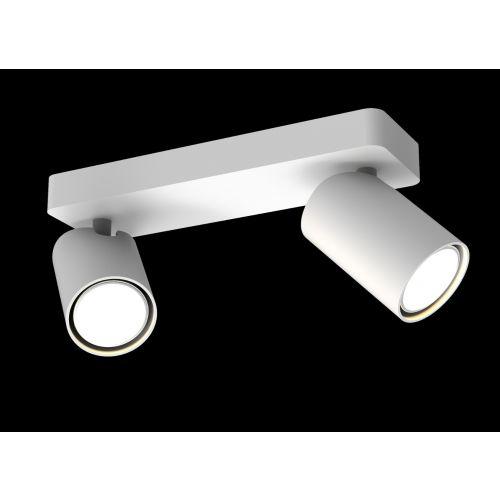 Mantra Sal Linear Twin2 Light Spotlight GU10 Matt WhiteM6282