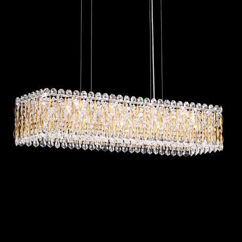 Schonbek Sarella 13 Light Pendant Fitting Heirloom Gold Spectra Crystal RS8344E-22A