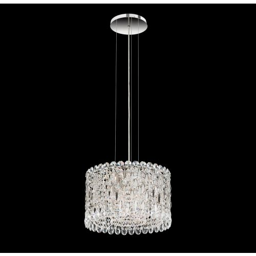 Schonbek Sarella Pendant Fitting Stainless Steel Spectra Crystal RS8345E-401A