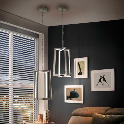 Schuller Kuma 753108 LED Ceiling Pendant Stainless Steel Frame