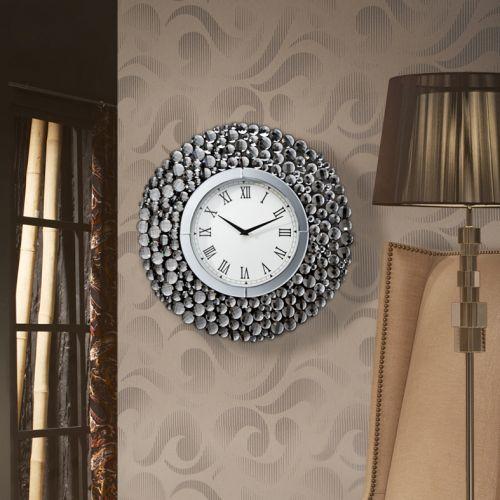Schuller 675406 Verona Clock Silver Frame