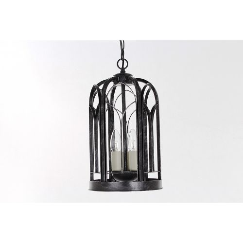Impex SMRRV00001/ABLK Villa 3Lt Antique Black Ceiling Indoor Lantern