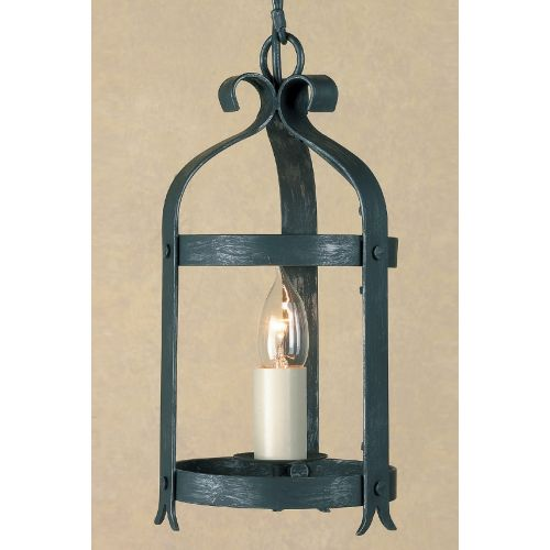 Impex SMRRV00005/ABLK Villa 1Lt Antique Black Ceiling Hanging Lantern