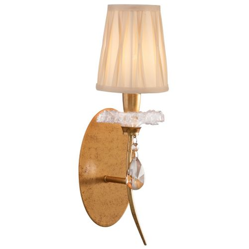 Mantra M6295 Sophie Single Wall Light Gold