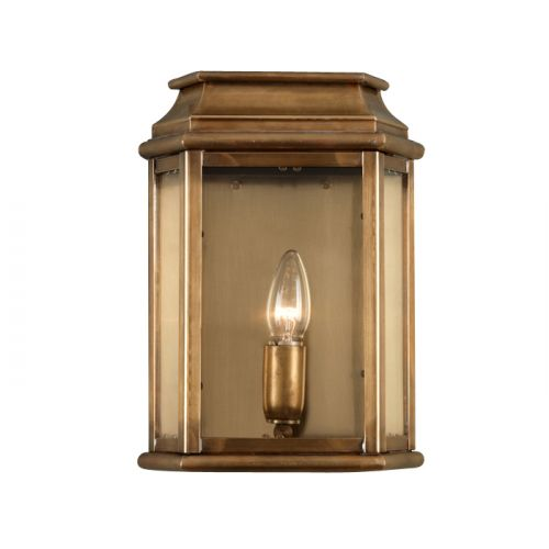 Elstead Solid Brass Outdoor Wall Lantern ELS/ ST MARTINS BR