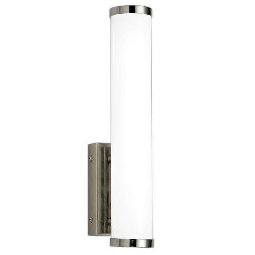 Lekki Tabor Bathroom Wall Lamp Small 9W LED 4000K 621lm IP44 Chrome LEK3274