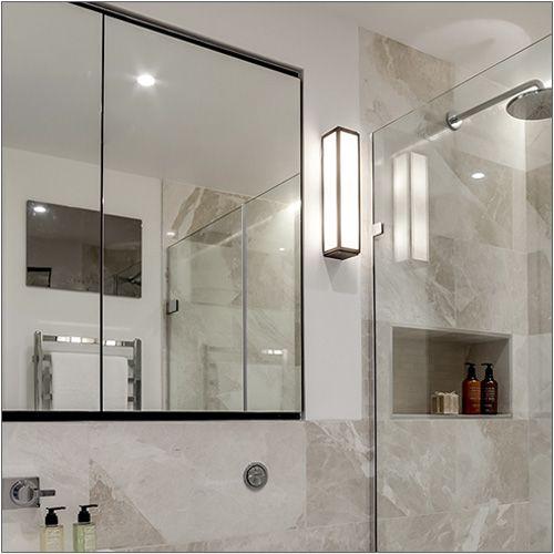 Astro Mashiko 360 Steel Bathroom Wall Light 0845