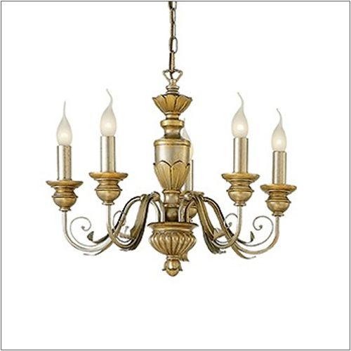 Ideal Lux Dora Gold Chandelier SP5 020822