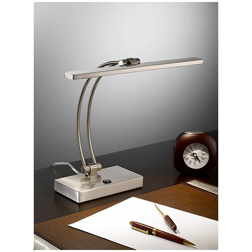 Franklite Chrome LED Desk Lamp With Switch TL892