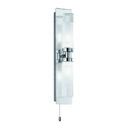 Franklite Polished Chrome Double Wall Light WB534