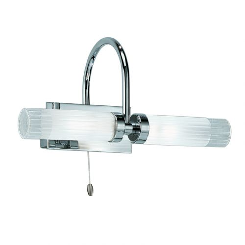 Franklite Chrome Double Wall Light WB535