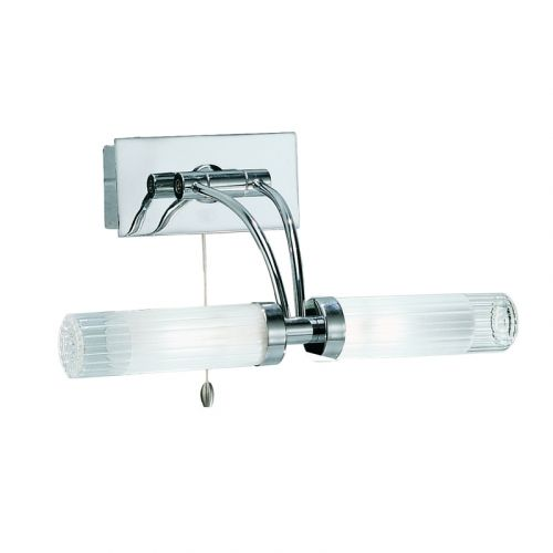 Franklite Chrome Double Wall Light WB536