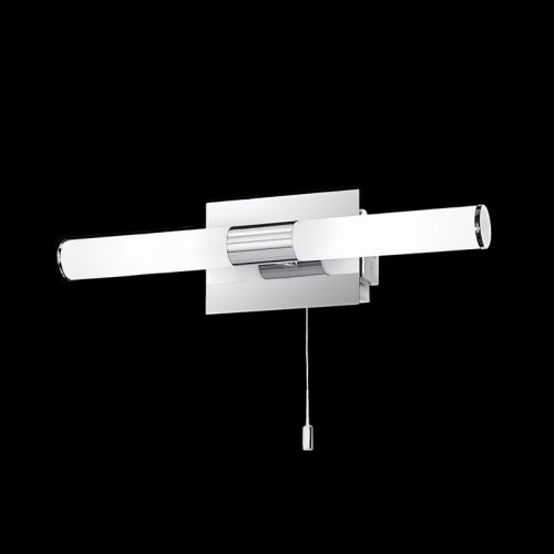 Franklite Chrome Wall Light/Shaver Socket WB978