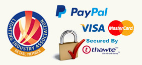 100% Secure Payment Logo's